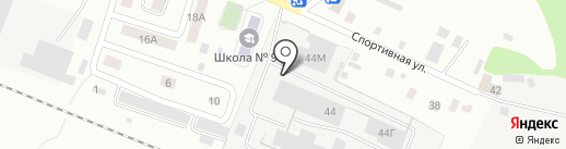 Акварт на карте Ижевска