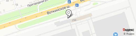 Удмуртвторресурс на карте Ижевска