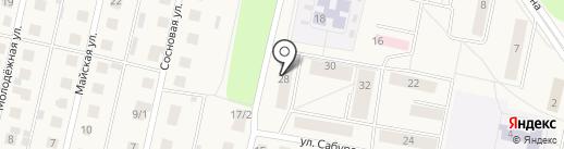 Мускат на карте Первомайского