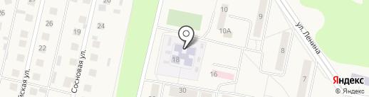 Детский сад на карте Первомайского