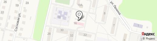 Первомайская врачебная амбулатория на карте Первомайского