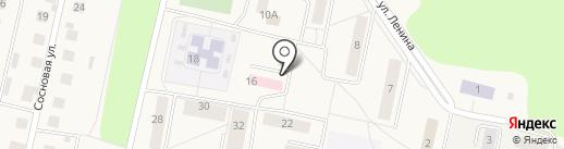 ПЕРВОМАЙСКАЯ на карте Первомайского