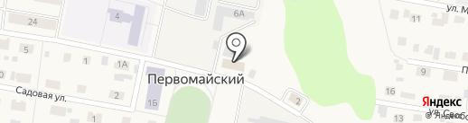 Ност на карте Первомайского