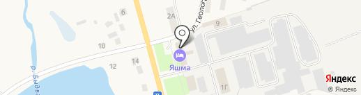 Яшма на карте Завьялово