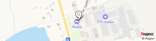 Три гуся на карте Завьялово