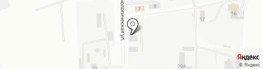Блеск-Трак на карте Ижевска