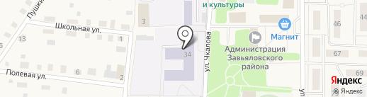 Сюрес на карте Завьялово