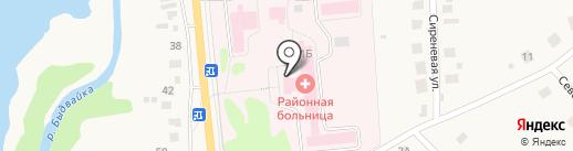 Районная больница с. Завьялово на карте Завьялово