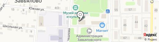 Управление социальной защиты населения в Завьяловском районе на карте Завьялово