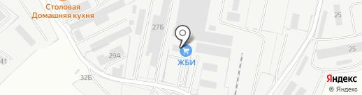 Магнум на карте Ижевска