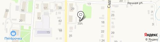 Завьялово на карте Завьялово