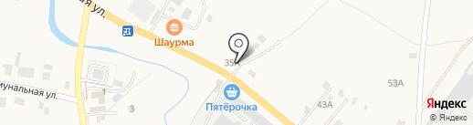 Восьмерочка на карте Завьялово