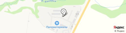 Железобетонный комбинат на карте Ижевска