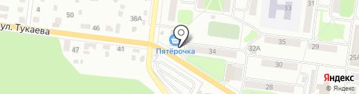 Батыр-Авто на карте Октябрьского