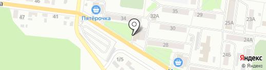 Почтовое отделение №7 на карте Октябрьского