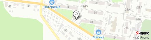 Amigo на карте Октябрьского