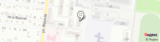Тет-а-Тет на карте Октябрьского