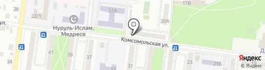 Чародейка на карте Октябрьского