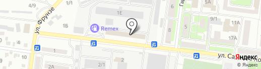 ПроектИнвестКапитал на карте Октябрьского
