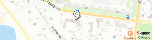 Дворец детского и юношеского творчества на карте Октябрьского