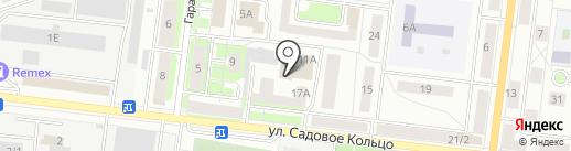Газ-Нефть Кадры, АНО на карте Октябрьского