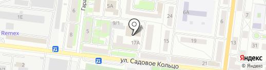Мебель на Садовом на карте Октябрьского