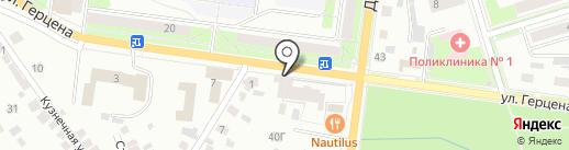 Дюна на карте Октябрьского