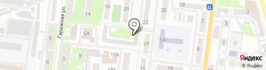 Почтовое отделение №6 на карте Октябрьского
