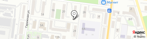 Эдельвейс на карте Октябрьского