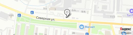 РОСАВТО на карте Октябрьского