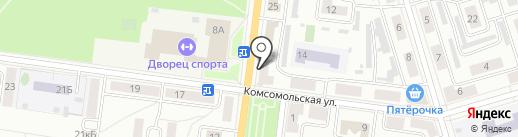 Карамель на карте Октябрьского