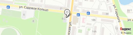 Топтыжка на карте Октябрьского