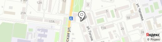 Вега на карте Октябрьского