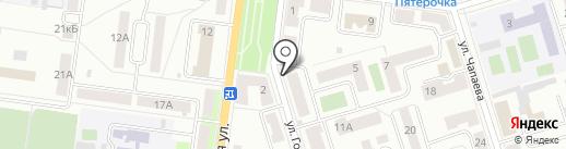 Бархат на карте Октябрьского
