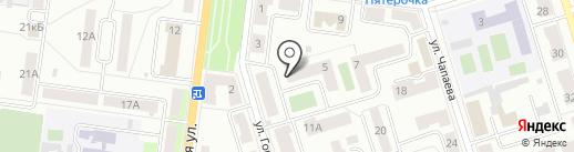 Жемчуг на карте Октябрьского