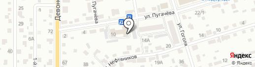 Магнат на карте Октябрьского