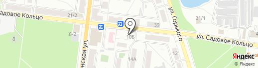 Магазин домашнего текстиля на карте Октябрьского