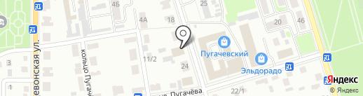 Долг на карте Октябрьского
