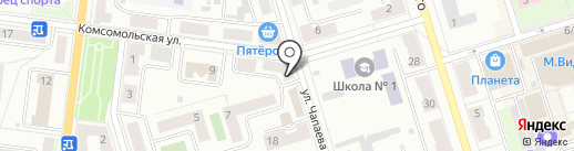 Медтехника на карте Октябрьского
