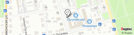 Уютный дом на карте Октябрьского