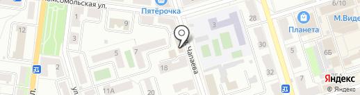 Армина на карте Октябрьского