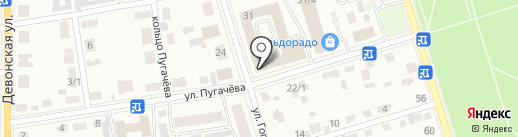 МатраЦ Центр на карте Октябрьского
