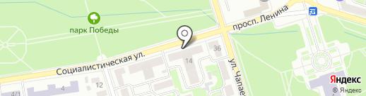 Пятерочка на карте Октябрьского