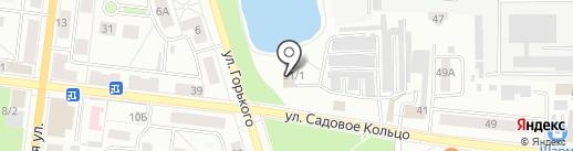 Белый аист на карте Октябрьского
