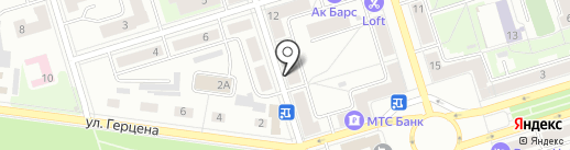 Райт на карте Октябрьского