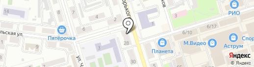 Эксклюзив на карте Октябрьского