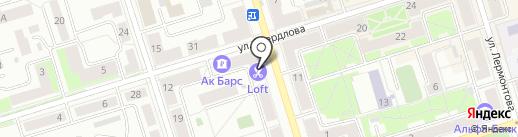 La femme на карте Октябрьского