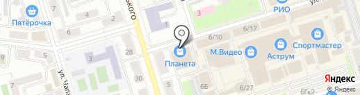 Волшебник на карте Октябрьского