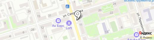 Эгоист на карте Октябрьского