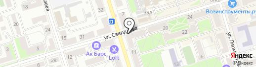 Интер мода на карте Октябрьского